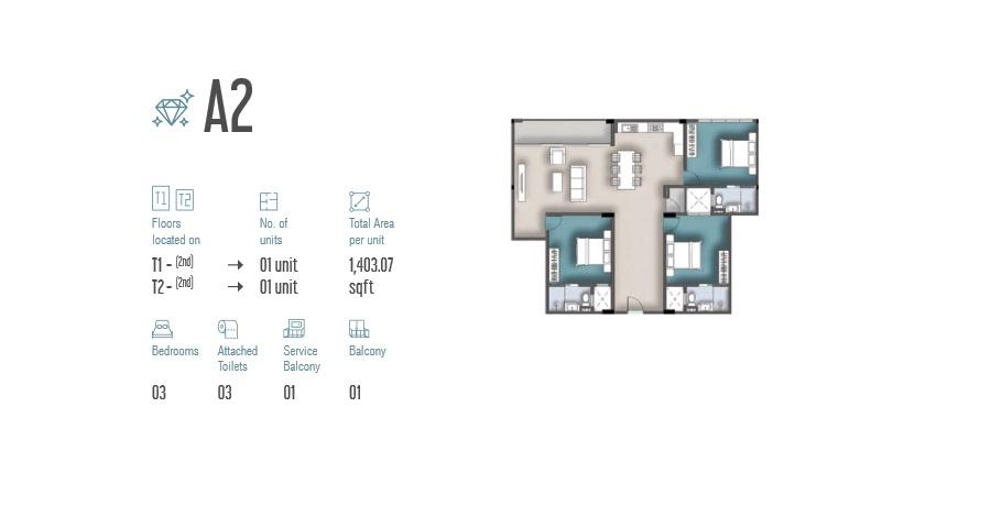 3 Room Apartment A2