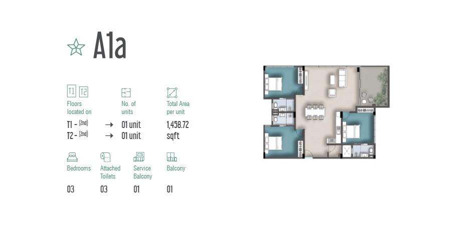 3 Room Apartment A1a