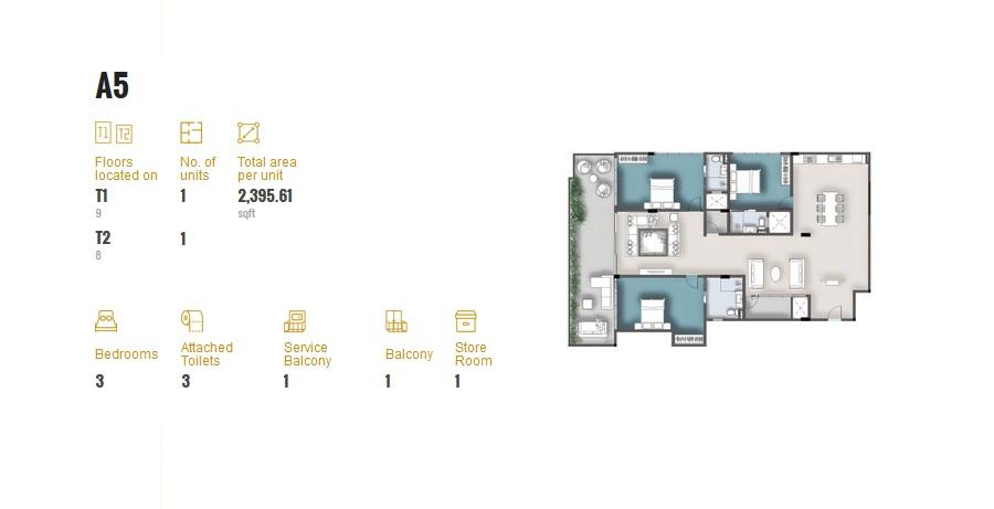 3 Room Apartment A5