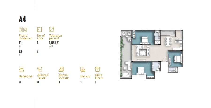 3 Room Apartment A4